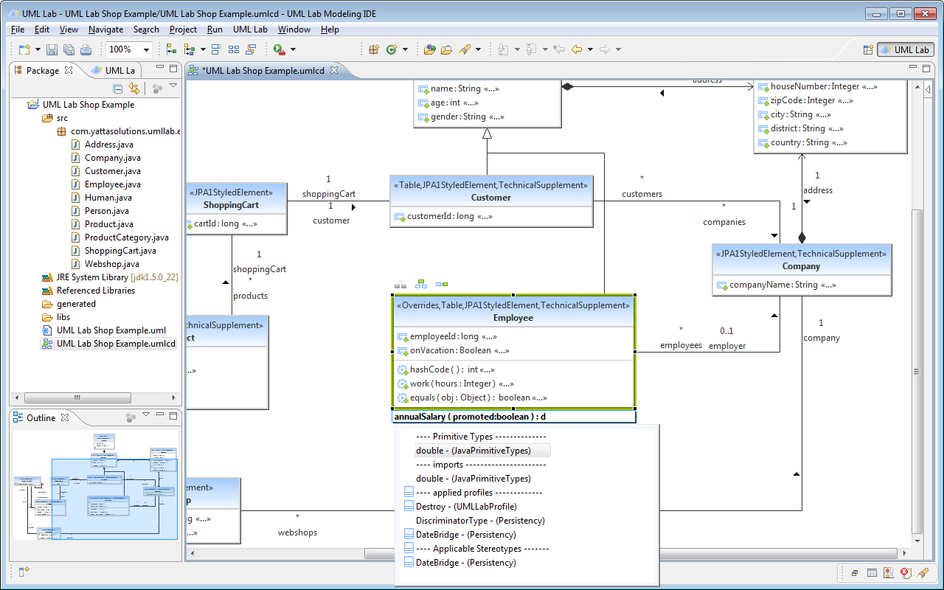 How to use UML Lab - Yatta Solutions